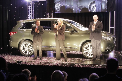 2013 INFINITI JX Luxury Crossover Production Begins