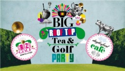 Big Rooftop Tea And Golf Party at Selfridges London
