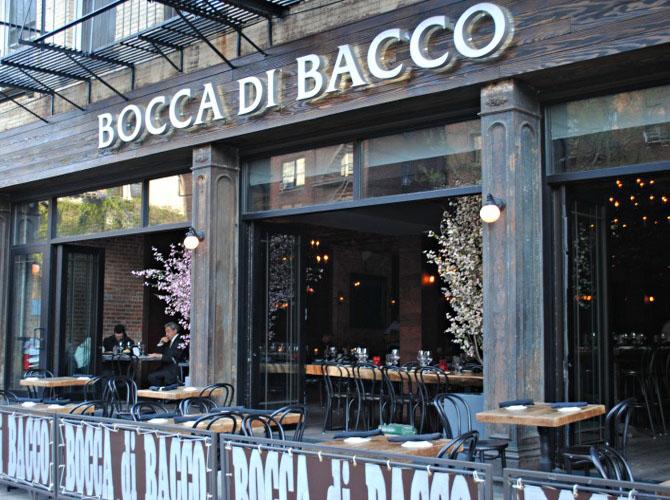 Bocca Di Bacco Restaurant Five Locations In New York