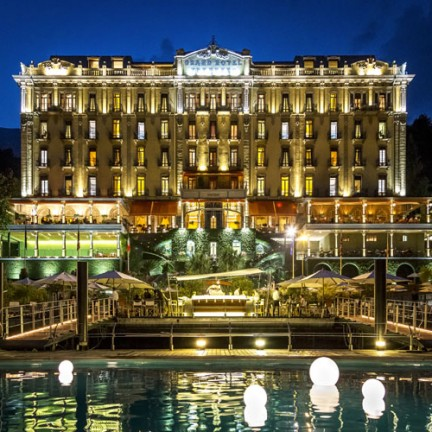 Grand Hotel Tremezzo Partners with Champagne Pommery to Unveil Customized Pop Bottles