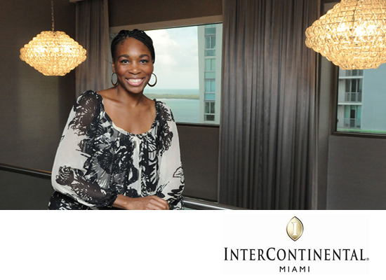 InterContinental Miami Unveils First Hospitality Project by Venus Williams