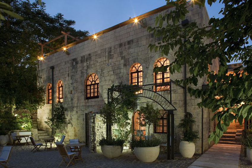 Hidden small hotels in israel luxeinacity for Boutique hotel israel