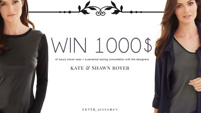 Win $1,000 Anatomie Wardrobe with your Favorite Bloggers
