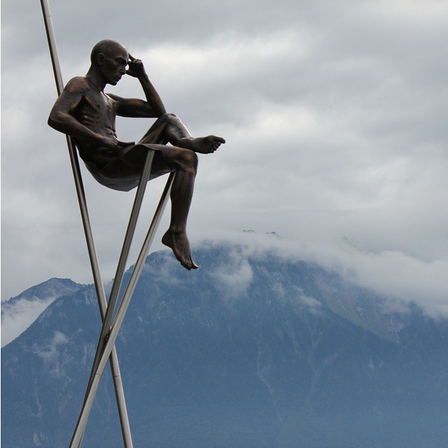 #Thinking of #Montreux, one of the most stunning cities in #Switzerland.