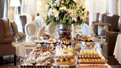 High Tea at the Mount Nelson, Cape Town
