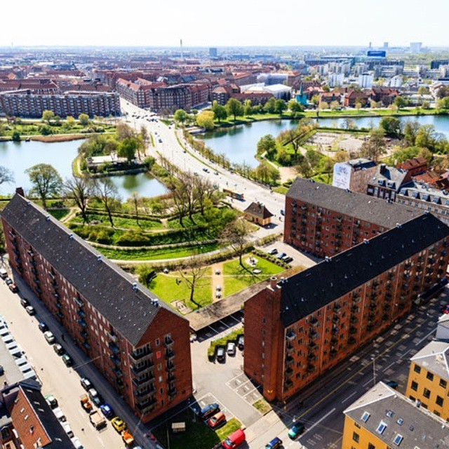 Bird's eye view of #Copenhagen, a Nordic gem.