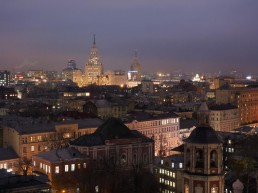 An Exclusive Tour of Moscow at Night