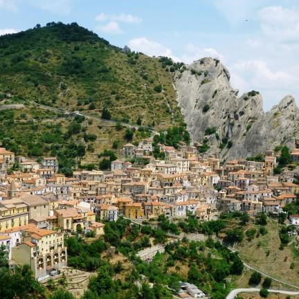 Angel Flight and Culinary Fancies at Castelmezzano Dolomites Italy Cover