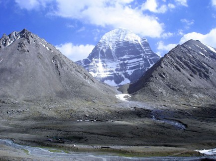 Holy Mount Kailash in Tibet