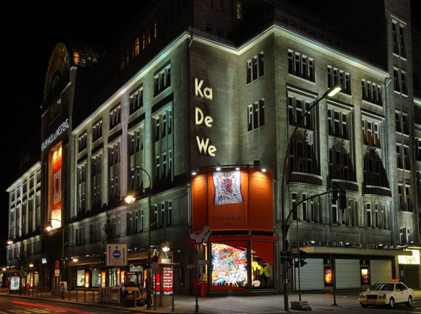 kadewe berlin luxurious retail experience luxeinacity. Black Bedroom Furniture Sets. Home Design Ideas