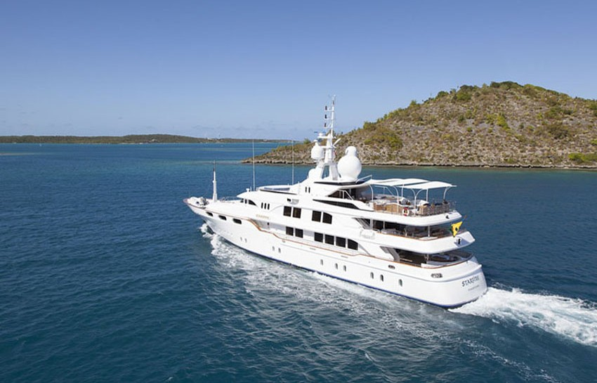 Martinique-on-a-superyacht