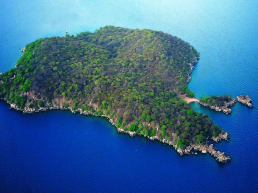 Mumbo Island freshwater tropical island Malawi