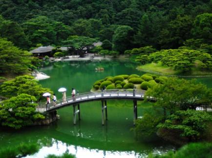 Shikoku Island in Japan