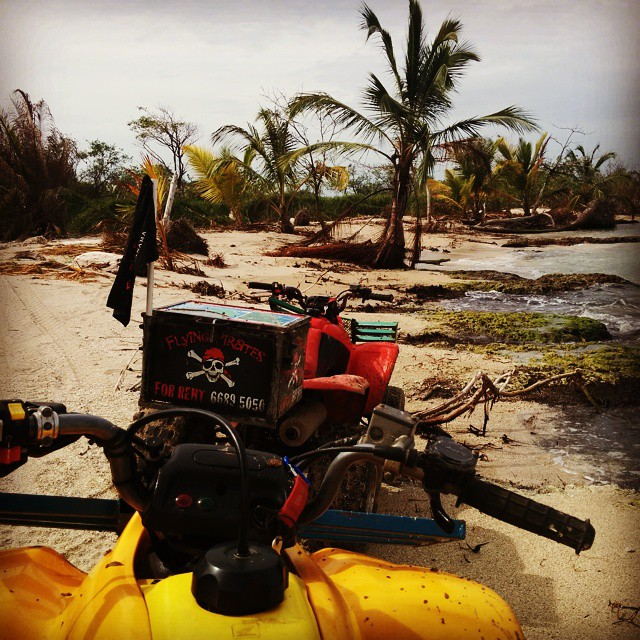 Life in #bocasdeltoro is good. Spend the day off-roading on these ATVs. Just amazing! #panama #roadtrip #travel