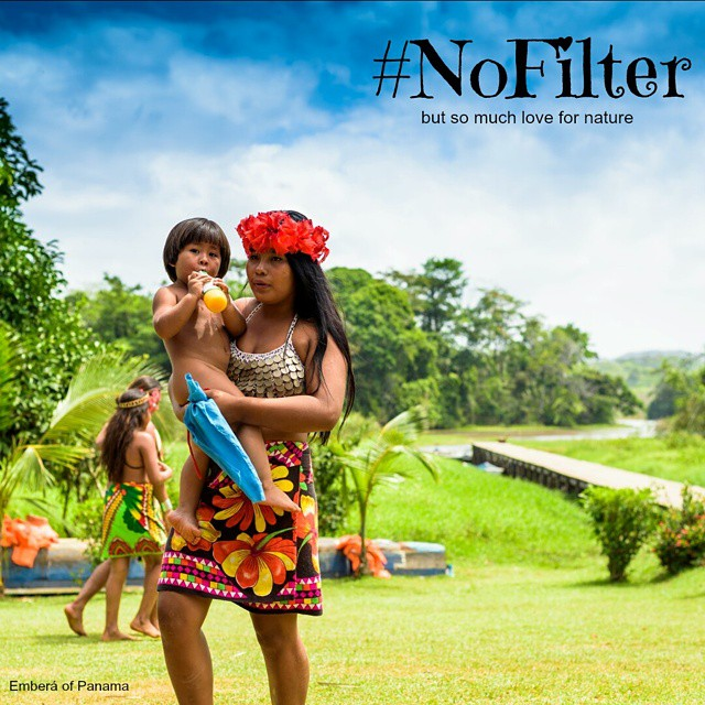 1 billion people in the world have NO water FILTERS, thus no access to clean water. But we can change that, on #worldwaterday. Make a post like this one spread the message. For every #nofilter post on Instagram, one gallon of clean water will be made accessivle by @wavesforwater, around the world.  @instytutum donated several filters to the Embera of Panama, put we need to bring some more.