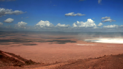 Crater Ngorongoro: Mans First Prints