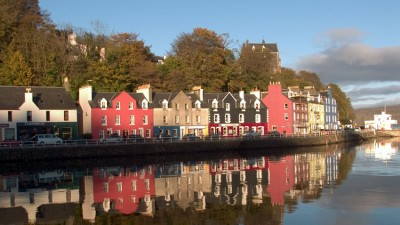 Isle of Mull, Tobermory: Whales in Scotland