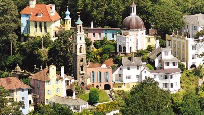 Portmeirion Wales: Italian and Welsh Wonder