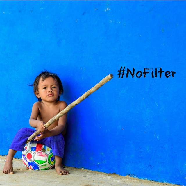 Just one of the adorable Kuna kids of #panama who will now have access to clean water thanks to our water filter donation.  However another 1 billion people in the world dont have access to clean water. For every #nofilter post on Instagram @wavesforwater will donate one gallon of clean water.  How about it? Get creative with us on #worldwaterday.