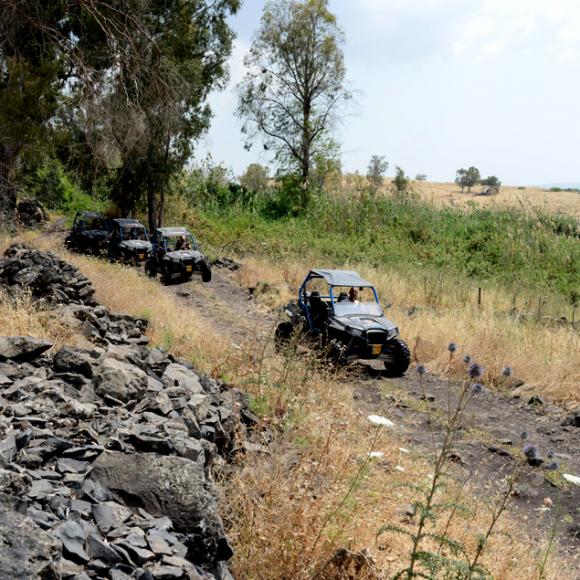Golan Heights ATV Tour Israel