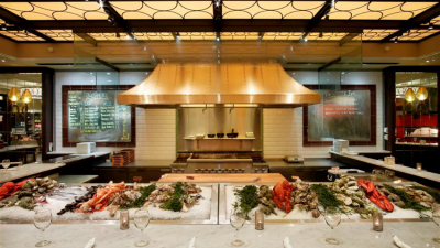 Todd English Food Hall in New York City