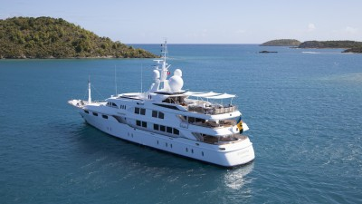Where to Spend New Year on a Super Yacht Charter