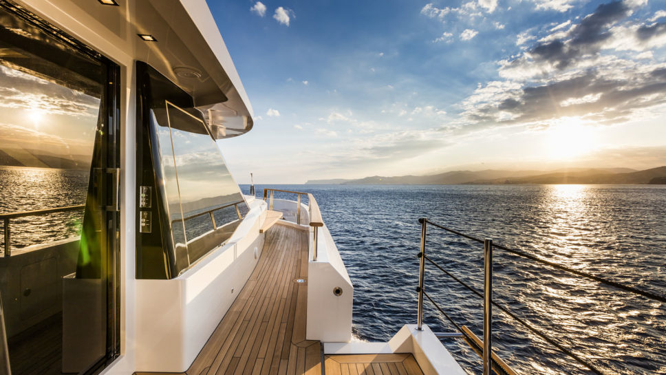 Motor Yacht SERENITY - Image credit to Mondomarine Superyacht 3