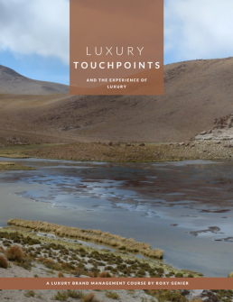 Luxury Touchpoints & The Experience of Luxury